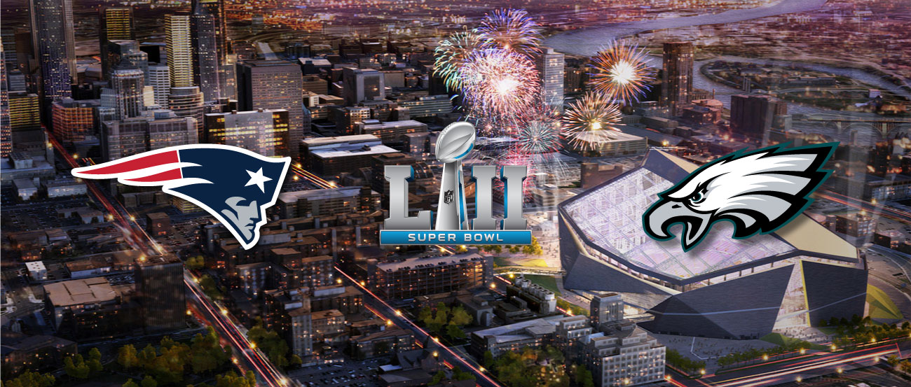 Super Bowl LII at the Club