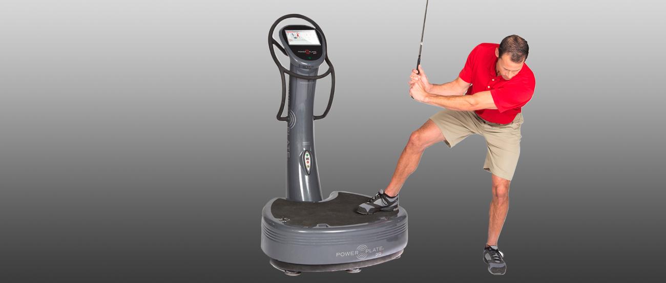 Power Plate Golf Workout