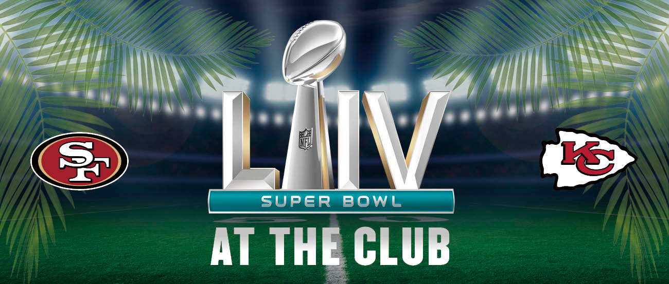 Super Bowl at the Club