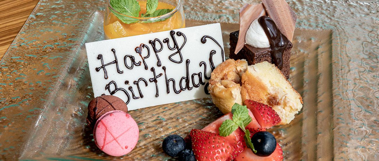 Birthday Dessert's On Us